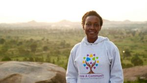 "Blum Ambassadors Council co-founder Lydia Natoolo ""delivers hope to hospital in homeland (Aug. 24)."""