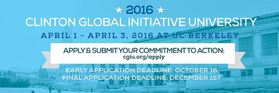 Apply to Represent UCI! Deadline December 1st.
